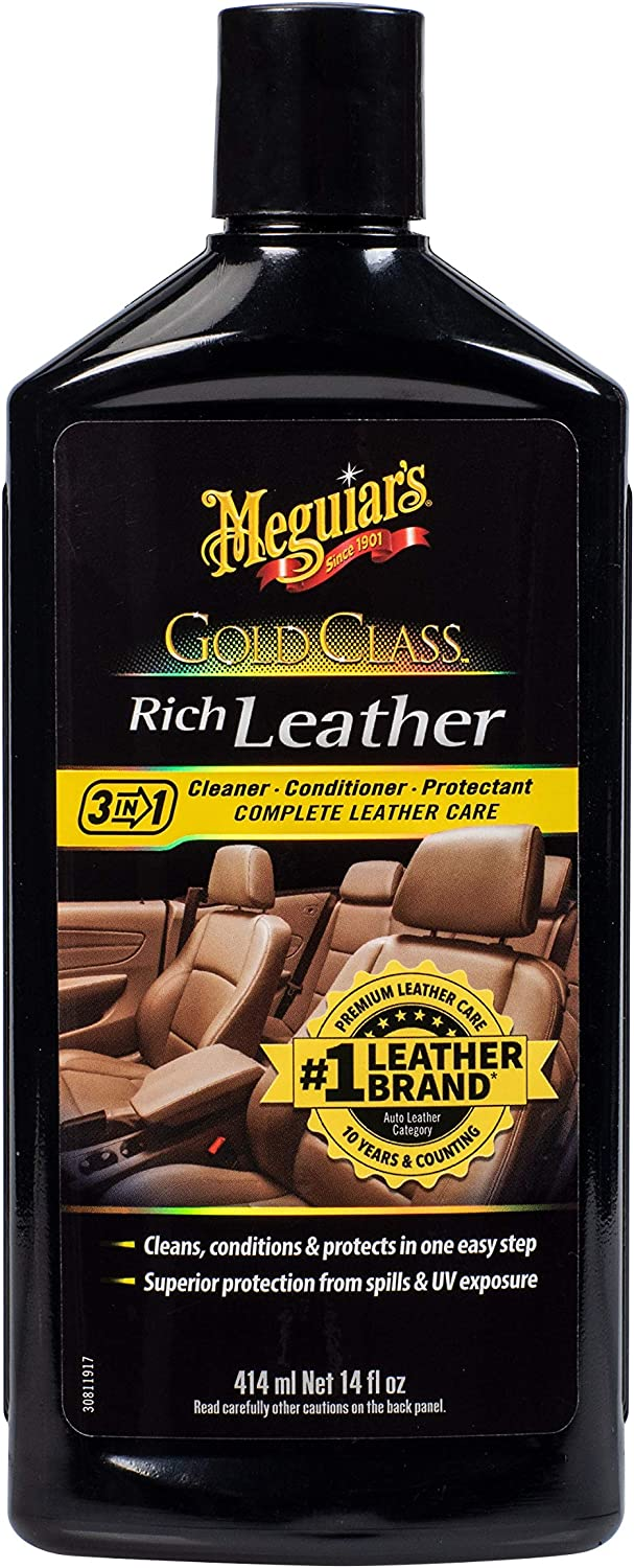 Meguiar's excellence Selling and selling Gold Class Rich Leather Cleans Conditio – Lotion