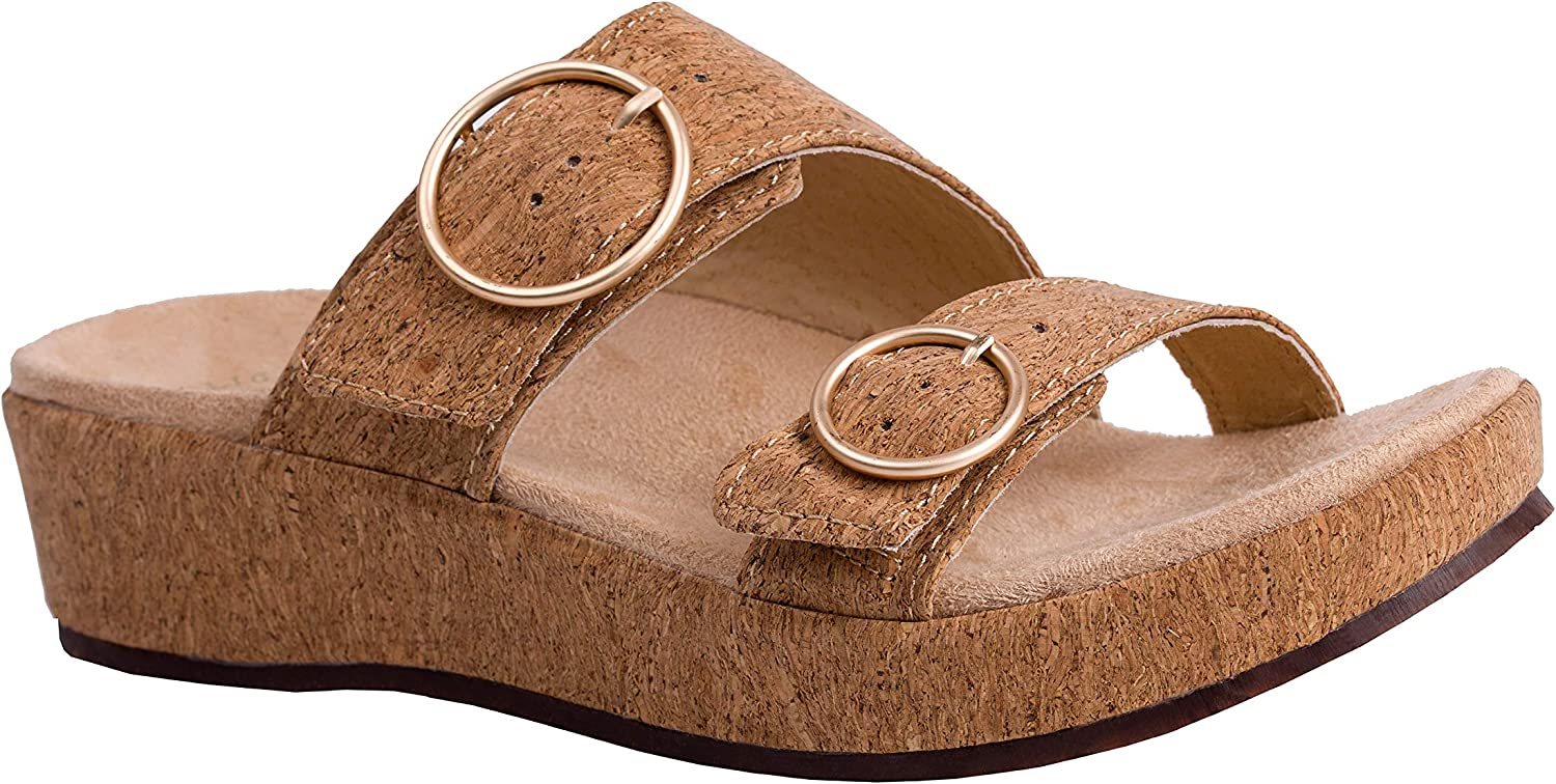 REVITALIGN Ranking TOP6 Women's Breakwater Cove Safety and trust Leather Adjustable Sandal