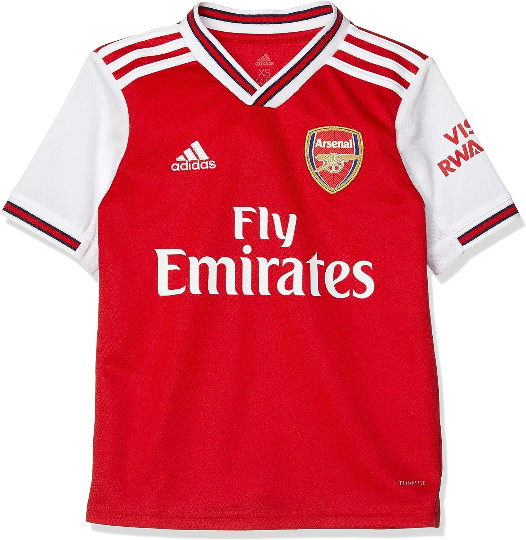 adidas 2019-2020 Arsenal Home Football Soccer T-Shirt Jersey (Kids)