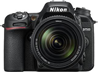 Nikon D7500 20.9MP DSLR Camera with AF-S DX NIKKOR 18-140mm f/3.5-5.6G ED VR Lens, Black