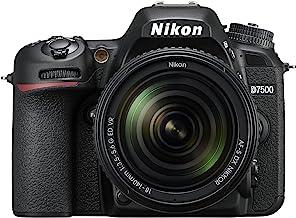 Nikkon D7500 - Cámara réflex Digital de 20.9 MP (Pantalla LCD 3.2