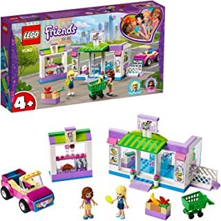 LEGO 41362 Friends Heartlake City Supermarket Grocery Store Set, Toy for 4 Year Old Girl and Boy with Buildable Toy Car