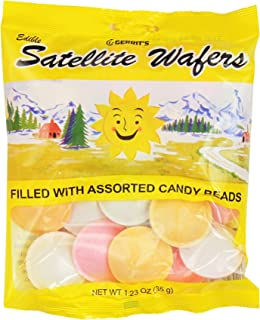 Gerrit's Satellite Wafers, 1.23 oz Bags in a BlackTie Box (Pack of 3)