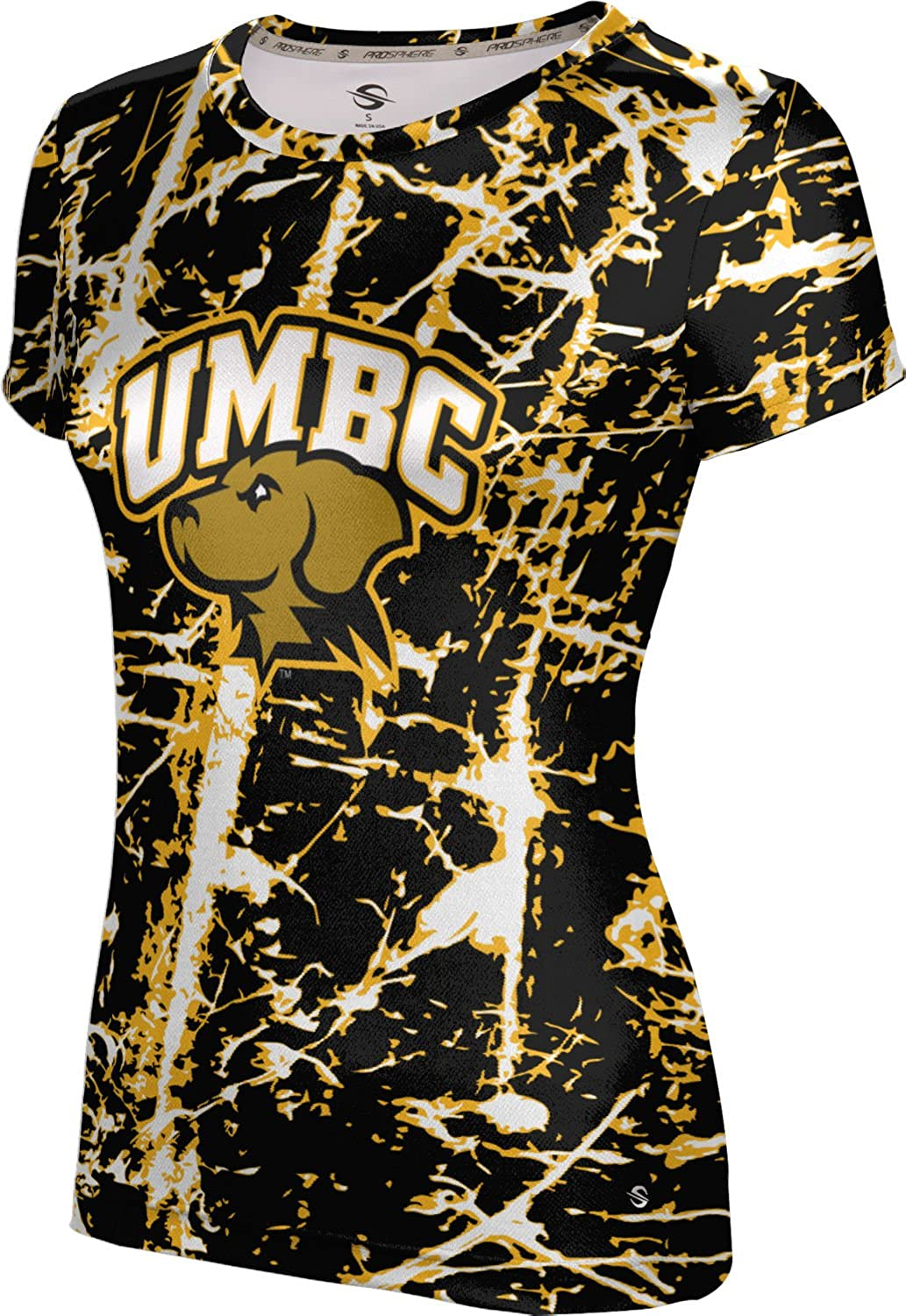 ProSphere University of Maryland Baltimore County Girls' Performance T-Shirt (Distressed)