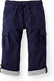 Boys' Lined Pull-on Cargo Pants