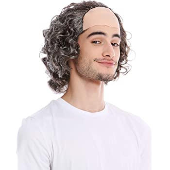 Max Wall Old Man Wig Fancy Dress Accessory