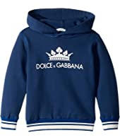 Dolce & Gabbana Kids - Ribbed Hoodie (Toddler/Little Kids)