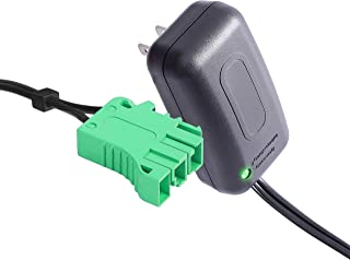 6V Charger for Peg Perego Child Ride On Car, 6 Volt Battery Charger Works with Peg-Perego Santa Fe Train John Deere Mini Power Ducati Desmosedici John Deere Farm Small Tractor
