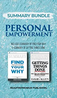 Summary Bundle: Personal Empowerment - Readtrepreneur Publishing: Includes Summary of Find Your Why & Summary of Getting T...