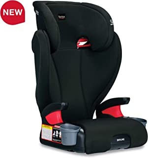 Britax Skyline 2-Stage Belt-Positioning Booster Car Seat - Highback and Backless - 2 Layer Impact Protection - 40 to 120 Pounds, Dusk