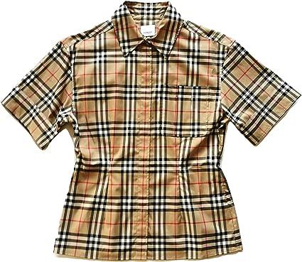 BURBERRY Eleanora 80258231 Archive - Camisa de manga corta ...
