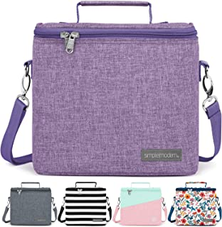 Simple Modern 4L Blakely Lunch Bag for Women & Men - Purple Insulated Kids Lunch Box -Lilac
