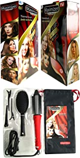 Maximizer Styler Thermal Brush Ionity Technology With Travel Case,Brush & Clips