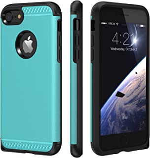 iPhone 7 Case,CHTech iPhone 8 Case Armor Shock Absorbing Dual Layer Case with Heavy Duty Drop Protection and Scratch Resistant Cover for Apple iPhone 7 / iPhone 8-Blue