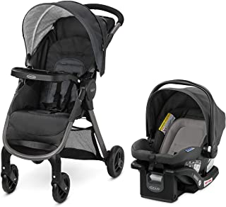 Best Graco FastAction SE Travel System   Includes Quick Folding Stroller and SnugRide 35 Lite Infant Car Seat, Redmond, Amazon Exclusive Review