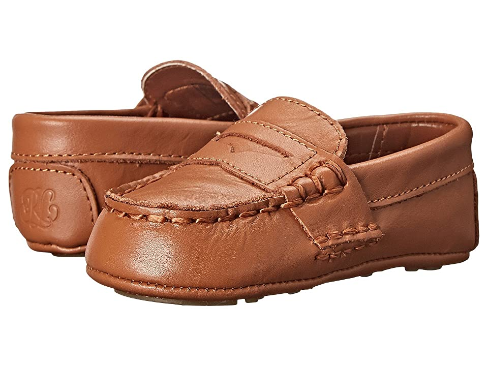 Polo Ralph Lauren Kids Tellie (Infant/Toddler) (Tan) Kids Shoes