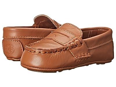 Polo Ralph Lauren Kids Tellie (Infant/Toddler) (Tan) Kids Shoes