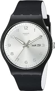 Unisex SUOB717 Originals Black Watch with Silver-Tone Dial
