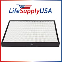 LifeSupplyUSA Replacement True HEPA Filter Compatible with Rabbit Air BioGS Models SPA-421A & SPA-582A