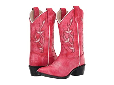 Old West Kids Boots Kari (Toddler/Little Kid) (Red) Girl