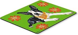 Caroline's Treasures AMB1385MP Cosmo Cutie Boston Terrier Mouse Pad, Hot Pad or Trivet, Large, Multicolor