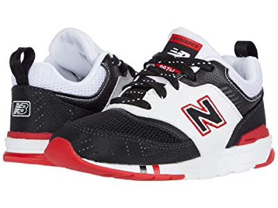New Balance Kids 997H (Infant/Toddler) (Black/Team Red) Boys Shoes