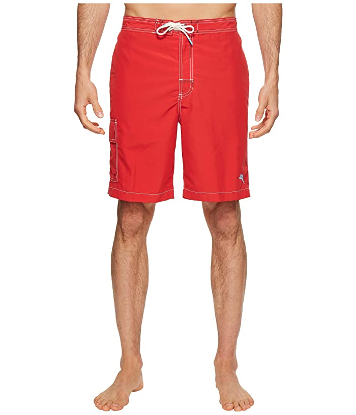 Tommy Bahama Baja Beach Swim Trunk (Ribbon Red) Men