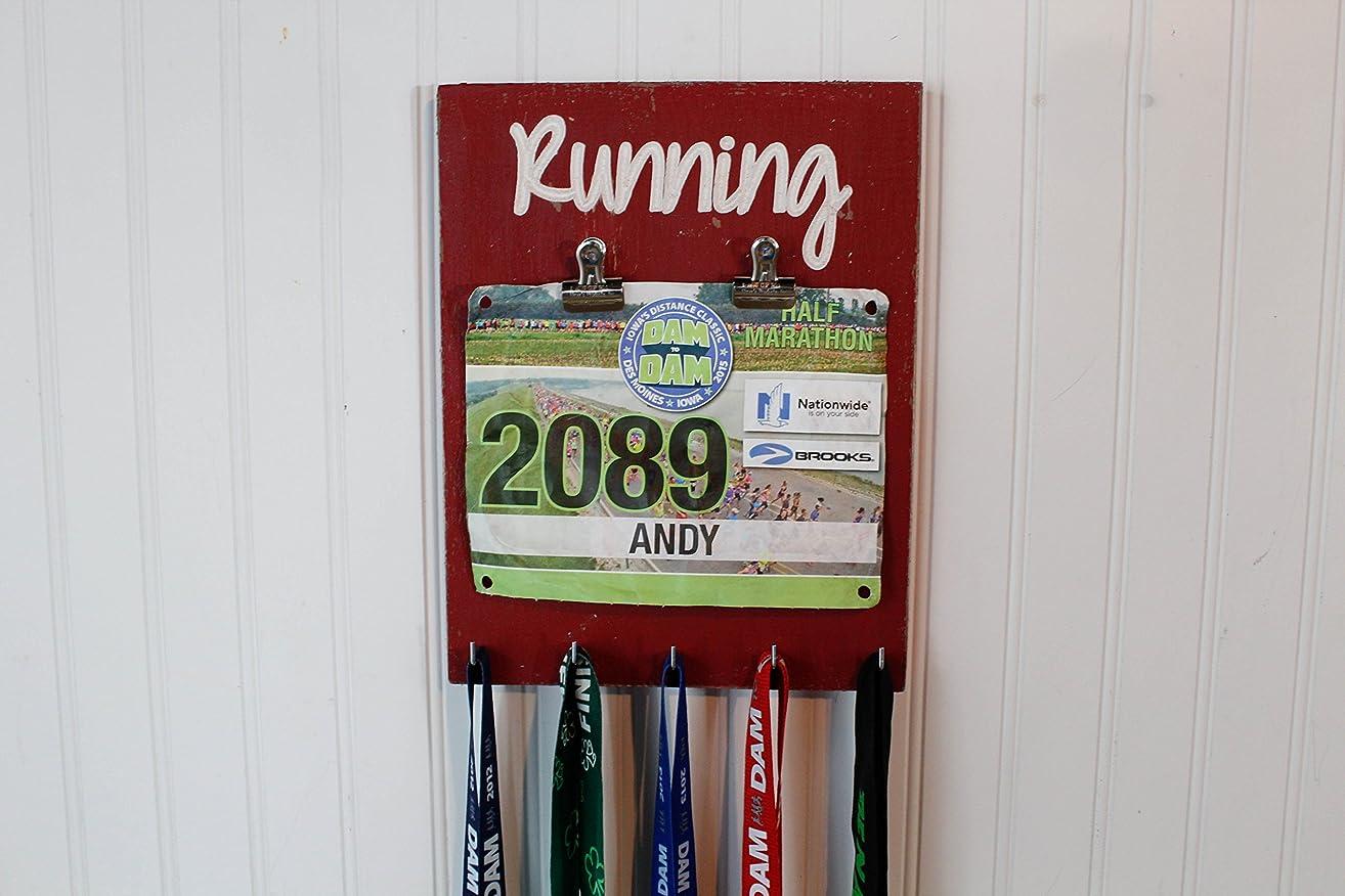 Running Medal Holder - Race Medal Holder- Bib Holder
