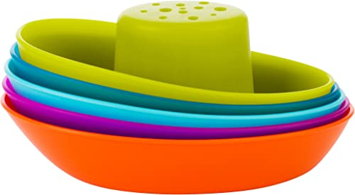 Boon Fleet Stacking Boats, Multicolor