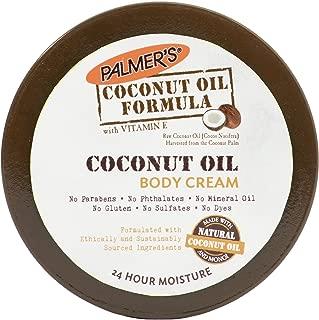 Palmer's Palmers Coconut Oil Formula, Coconut Oil Body Cream, 4oz