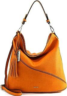SURI FREY Beutel Tilly 12723 Damen Handtaschen Uni orange 610 One Size