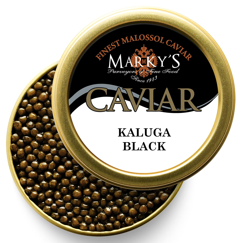 Marky's online shop Outlet ☆ Free Shipping Premium Kaluga Hybrid Caviar – Sturgeon Black