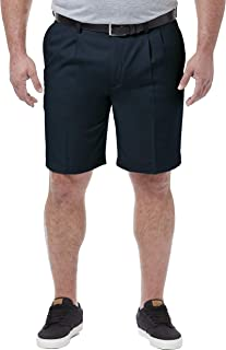 Men's Big & Tall Cool 18 Pro Pleat Front Short