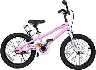 Freestyle Kid's Bike for Boys and Girls, 12 14 16 inch with Training Wheels, 16 18 20 inch with Kickstand, in Multiple Colors