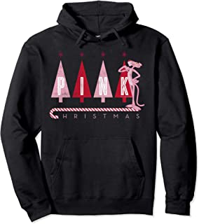 Pink Panther Pink Christmas Portrait Pullover Hoodie