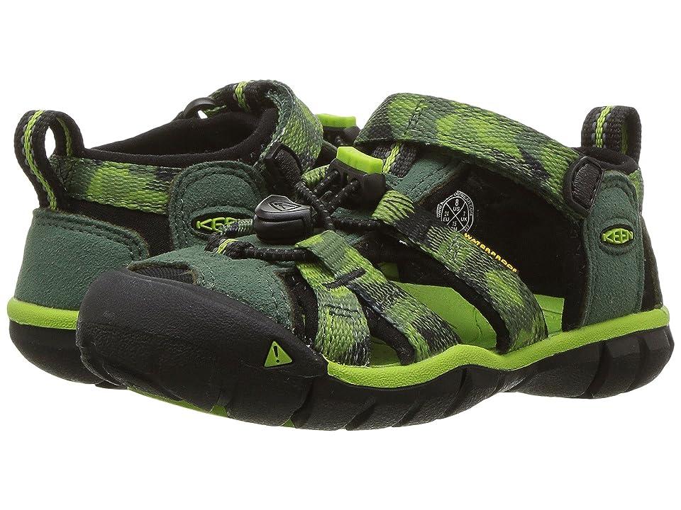 Keen Kids Seacamp II CNX (Toddler/Little Kid) (Duck Green/Greenery) Boys Shoes