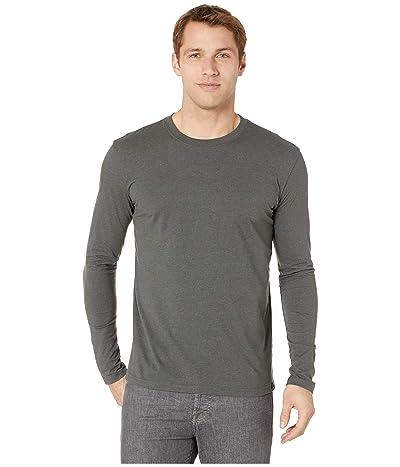 Prana Long Sleeve T-Shirt (Charcoal Heather) Men
