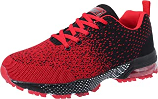 Zapatos para Correr Hombres Mujeres Zapatillas de Deporte Zapatos Deportivos Moda Ligero Zapatos Transpirables Casuales