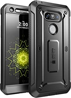 SUPCASE Unicorn Beetle Pro Series Case Designed for LG G5, with Built-In Screen Protector Full-Body Rugged Holster Case for LG G5 2016 Release (Black)