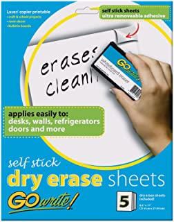 Pacon Pacon Adhesive Dry Erase Sheets (PACAS8511)