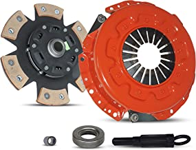 Clutch Kit Works With Set Nissan 300Zx Base Convertible Coupe 2-Door 1990-1996 3.0L V6 GAS DOHC Naturally Aspirated (5 Speed; All model except Turbo; 6-Puck Disc Stage 3)