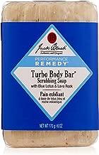 Jack Black - Turbo Body Bar Scrubbing Soap, 6 oz - Men's Soap with Blue Lotus and Lava Rock