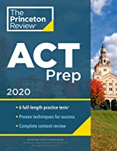 Download Princeton Review ACT Prep, 2020: 6 Practice Tests + Content Review + Strategies (College Test Preparation) PDF