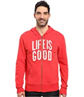 Life is Good - Life is Good® Go-To Zip Hoodie