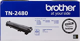 Brother TN-2480 Original Toner Cartridge Compatible with DCP/HL/MFC, 3000 Pages, Black