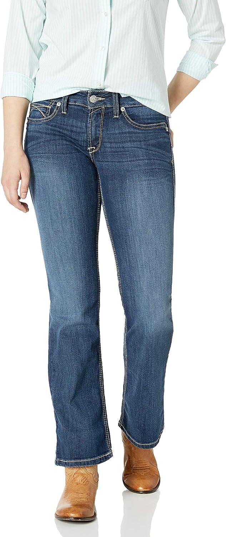 Ariat Women's R.E.A.L Mid Rise BootJean, Tulip Gemstone, 34 L
