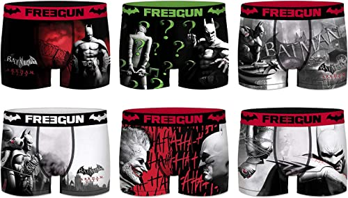 LibreGUN. Boxer Homme DC Comics - AssortiHommests modèles Photos Selon arrivage- (M, Pack de 6 act8)