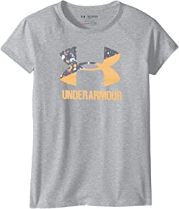 Under Armour Kids UA Solid Big Logo Short Sleeve Tee (Big Kids)