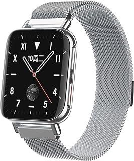 Smart Watch, M96 Kleurenscherm Bluetooth Call Watch Fashion Square Dial Horloge HD Gebogen Schermhorloge Fitness Tracker V...
