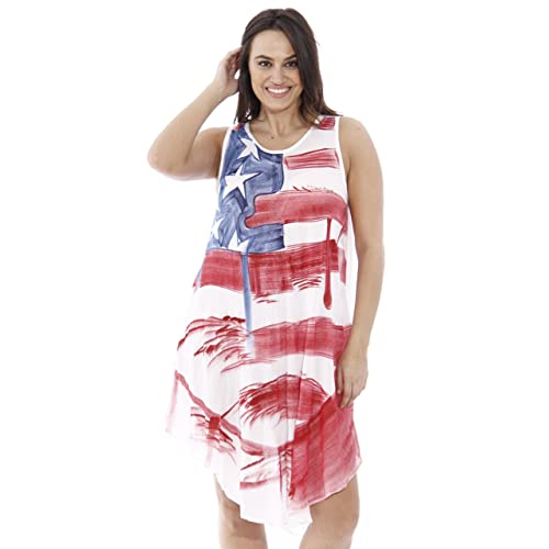 Red White and Blue Dress: Amazon.com